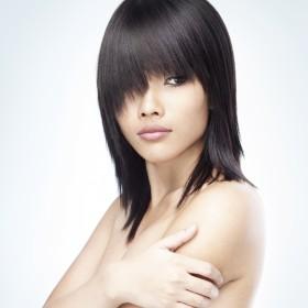 Alere hair - long, dark hair total